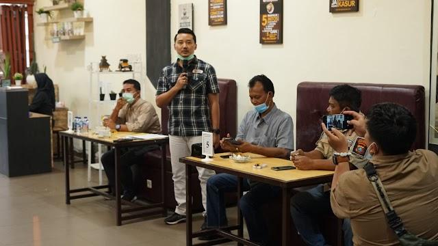 Kasat Reskrim Baru Silaturahmi Dengan Wartawan Unit Polres Simalungun