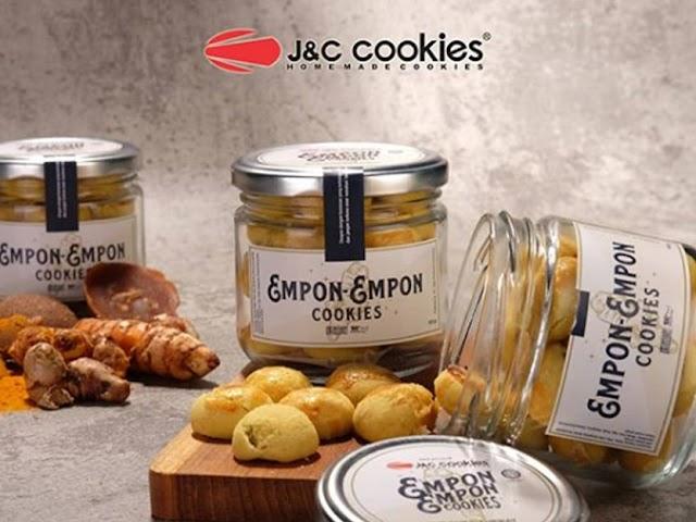 J&C Cookies Luncurkan Produk Empon-Empon Cookies