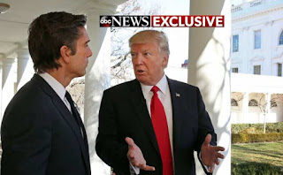 President Trump on an ABC Interview