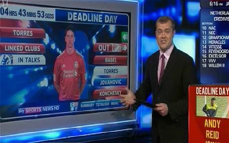 Sky Sports Transfer Desk Design Ideas