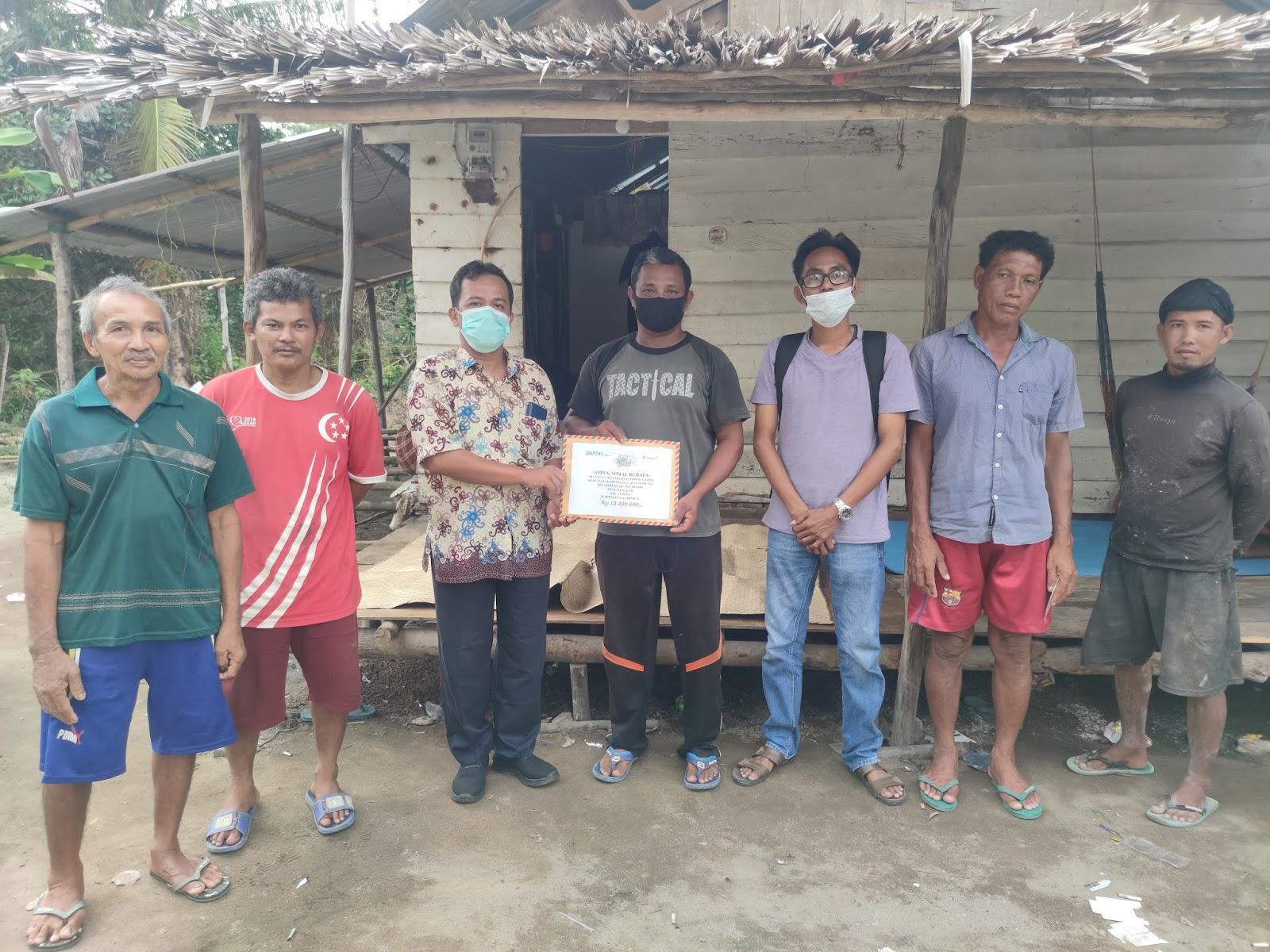 Nelayan Desa Pelambung Terima Bantuan dari PT Timah Tbk