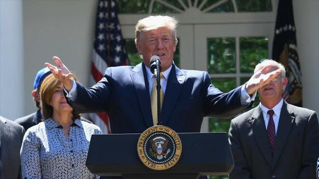 Trump insinúa que se quedará en la Casa Blanca más allá de 2024