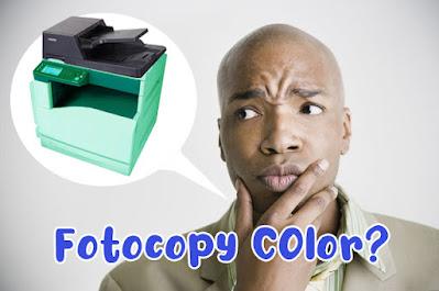 Petimbangkan Hal ini sebelum membeli Fotocopy Warna