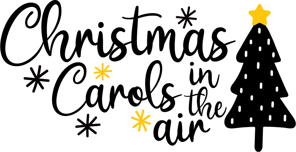 Christmas Carols In The Air SVG Files