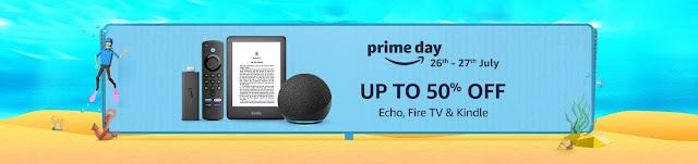Amazon Prime Day Echo, Fire TV & Kindle Deals
