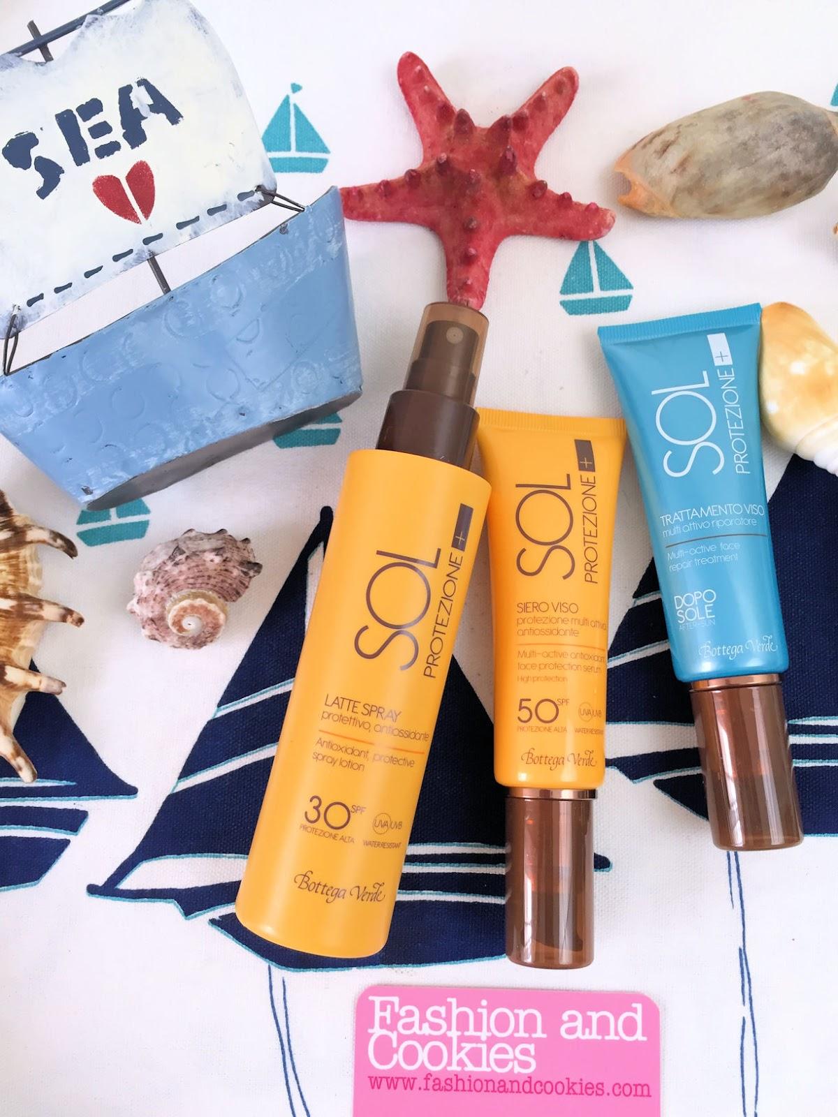 Solari Sol Protezione + di Bottega Verde su Fashion and Cookies beauty blog, beauty blogger