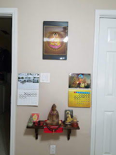 Home Meditation Shrine