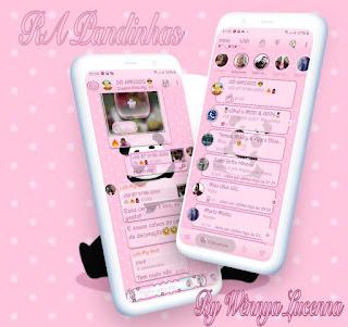 Panda Theme For YOWhatsApp & RA WhatsApp By Wennya