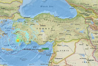 Two New Earthquakes Hit Coast of Greek Island of Kos
