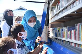 Tingkatkan Minat Baca, Ketua GPMB Batu Bara Bagikan Buku