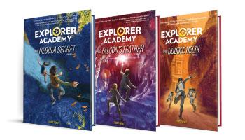 Explorer Academy 3-book series