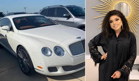 Welcome To Ladun Liadi's Blog: Bobrisky takes delivery of a bentley (photos)