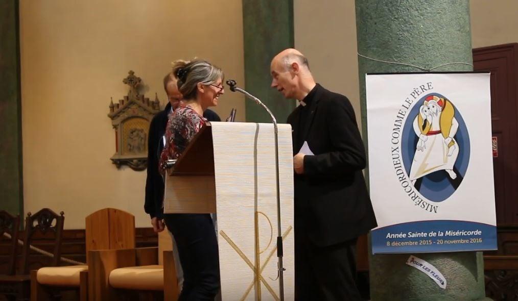 Monique Jacquet et Sylvain Bataille