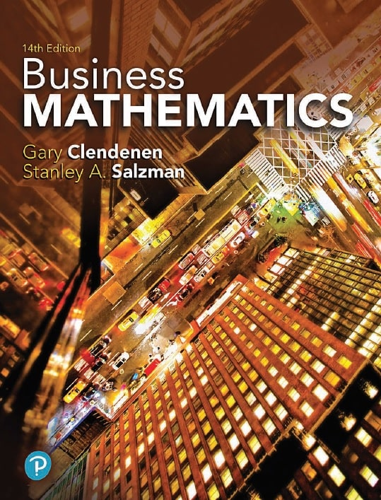 Business Mathematics, Fourteenth Edition