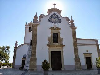 Almancil, iglesia de São Lourenço dos Matos.