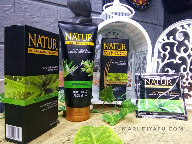 Natur, natur hair care, blogger muslimah