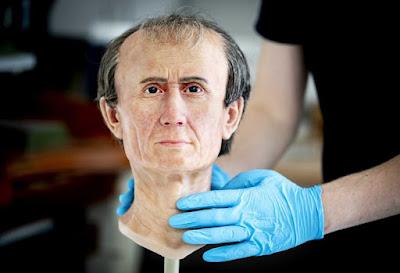 Μια ρεαλιστική 3D αναδημιουργία του προσώπου του Ιούλιου Καίσαρα