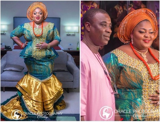More Photos of Nollywood Stars at Eniola Badmus father's Burial Ceremony