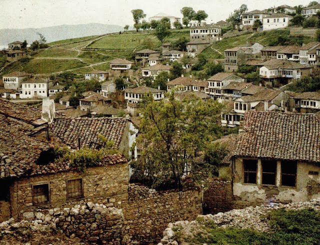 Varosh neighborhood in Ohrid, Macedonia in 1913