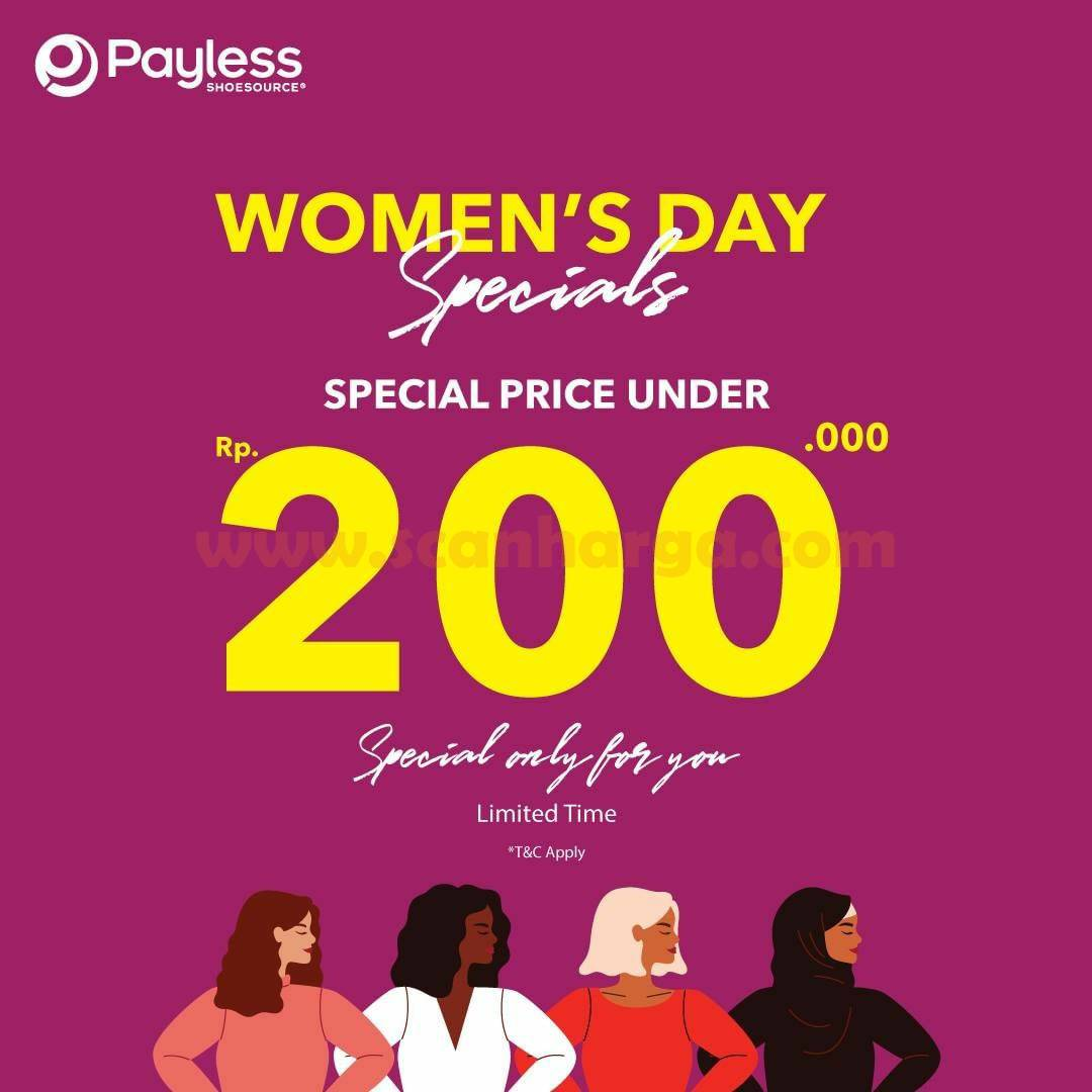 Promo Payless Women's Day Specials