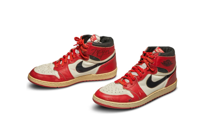 Air Jordan 1s w których grał Michael Jordan 2020