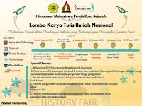 Lomba Karya Tulis Ilmiah Nasional 2019 di Untirta