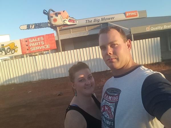Northern Territory BIG Things   Winnellie BIG Chainsaw