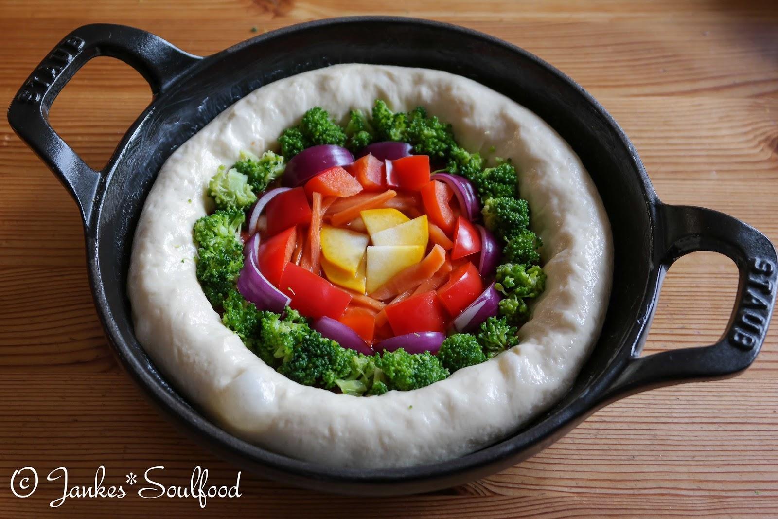 Pan Pizza von Jankes Soulfood