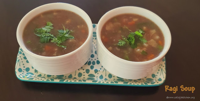 images of Ragi Soup / Finger Millet Soup / Ragi Vegetable Soup / Vegetable Ragi Soup