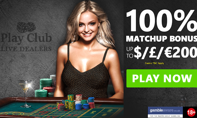 Live Dealers at Play Club Casino