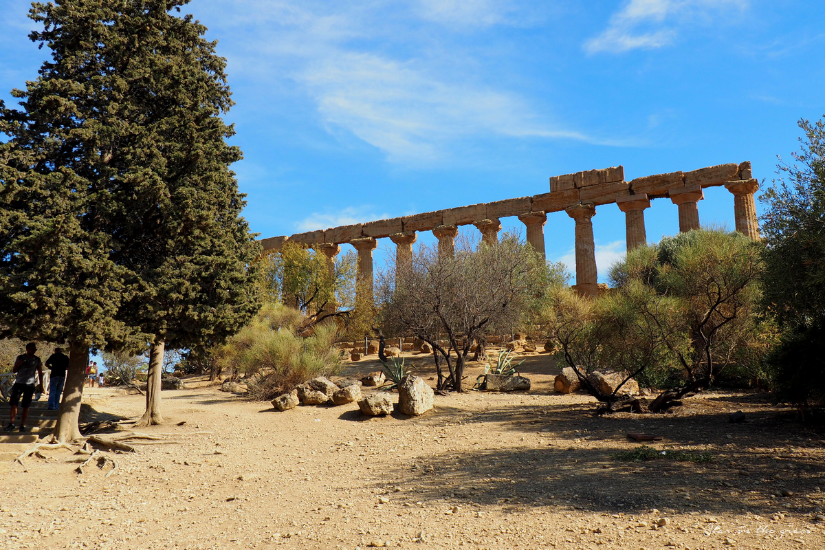 Vallées des Temples, Agrigento, Sicilia