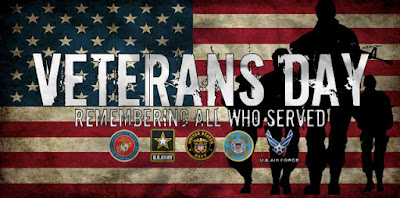 veterans day banner images
