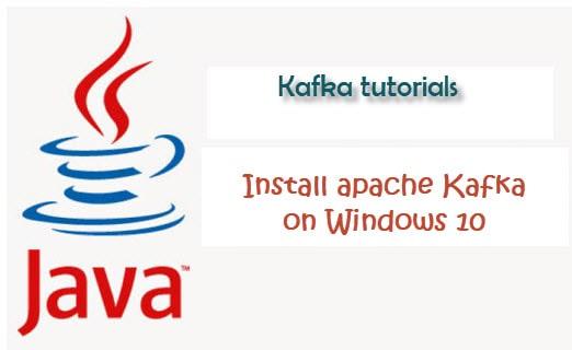 install apache kafka on windows 10
