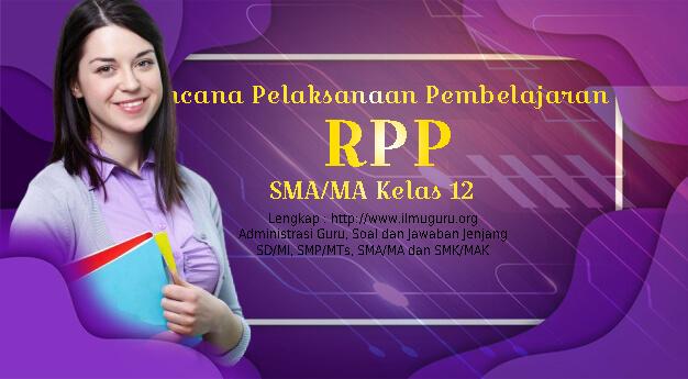 RPP 1 Lembar Kimia SMA Kelas XII