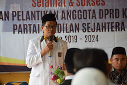 Anggota DPRD Medan Dilantik Hari Ini, PKS : Benar-benar Menjaga Amanah dan Menunjukan Kerja Kepada Masyarakat