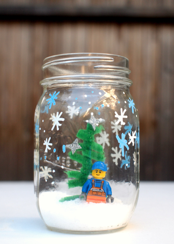 Lego Snow Jars For Kids And 6 More Lego Inspired Projects Pink