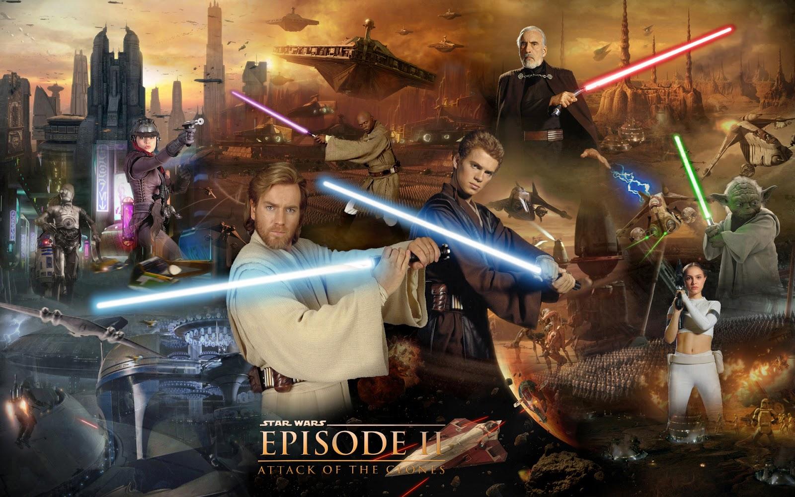 Star Wars Episodio II El Ataque de los clones Descarga Mega HD Español Latino