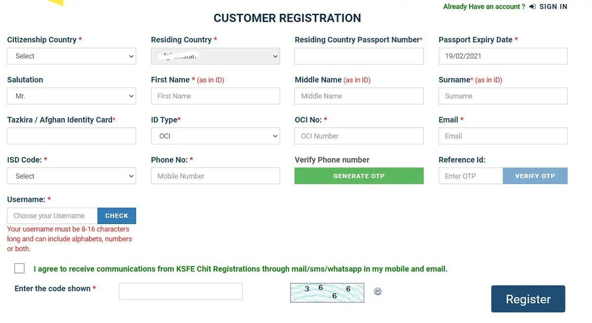 [Apply] Kerala KSFE Pravasi Chitty Scheme Online Registration Form 2021 at pravasi.ksfe.com
