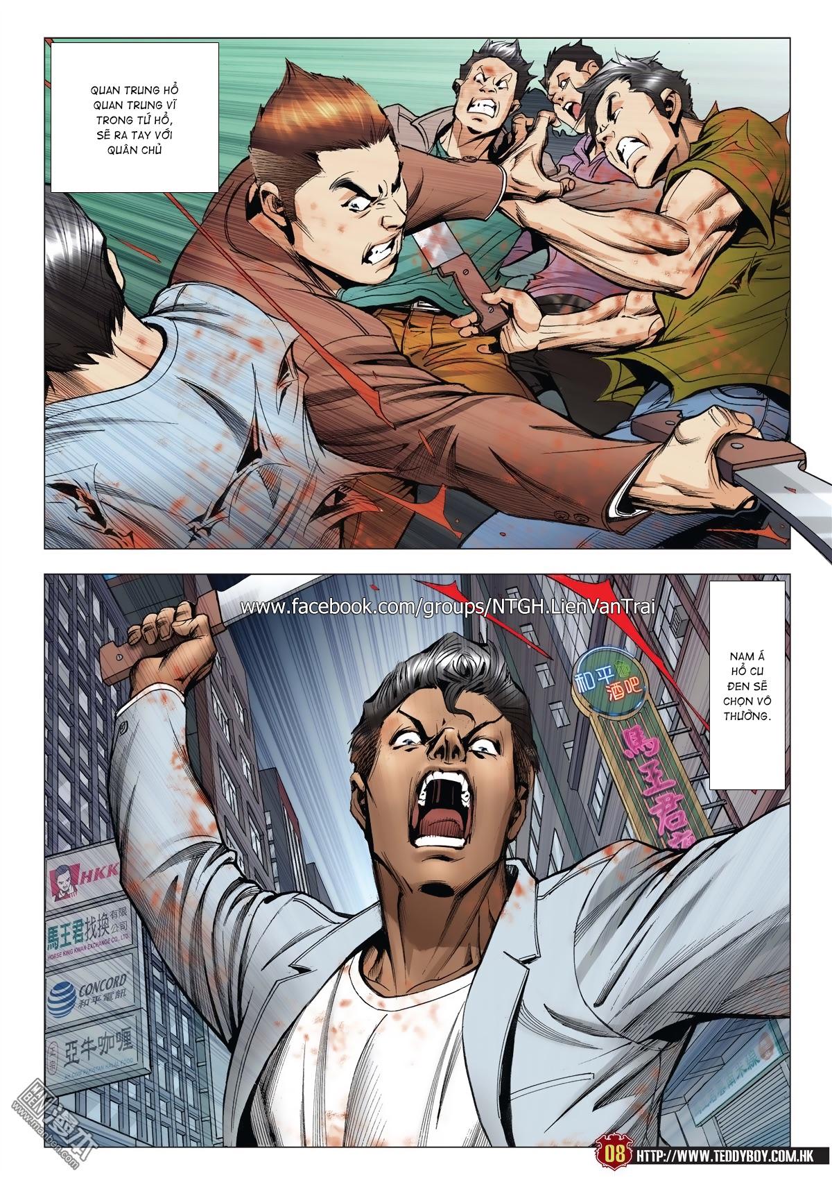 Người Trong Giang Hồ chapter 2015: tọa sơn hổ vs đại phạn trang 5