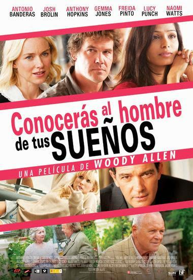 Conocerás al Hombre de tu Sueños DVDRip Español Latino