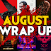 AUGUST HORROR WRAP UP 💀 Movies We Watched