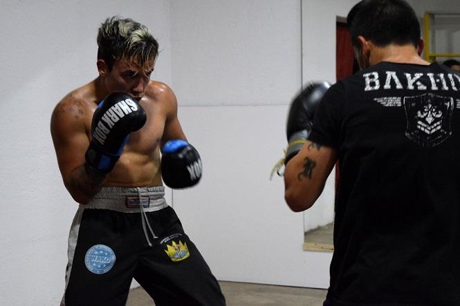 El honor de entrenarse con un campeón