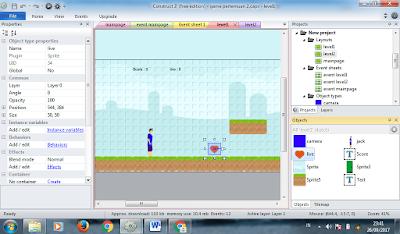 layout pada construct2