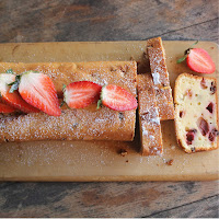 Erdbeer Quark Schokoladenkuchen