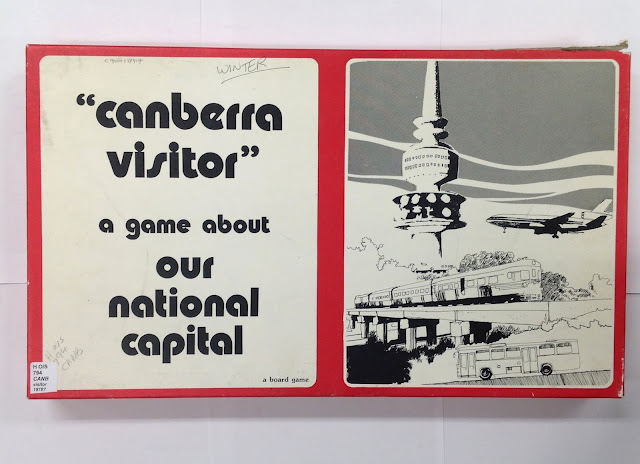 'Canberra Visitor: the Capital Board Game,' approximately 1978