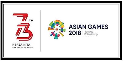 Tema dan Logo HUT Ke-73 RI Tahun 2018
