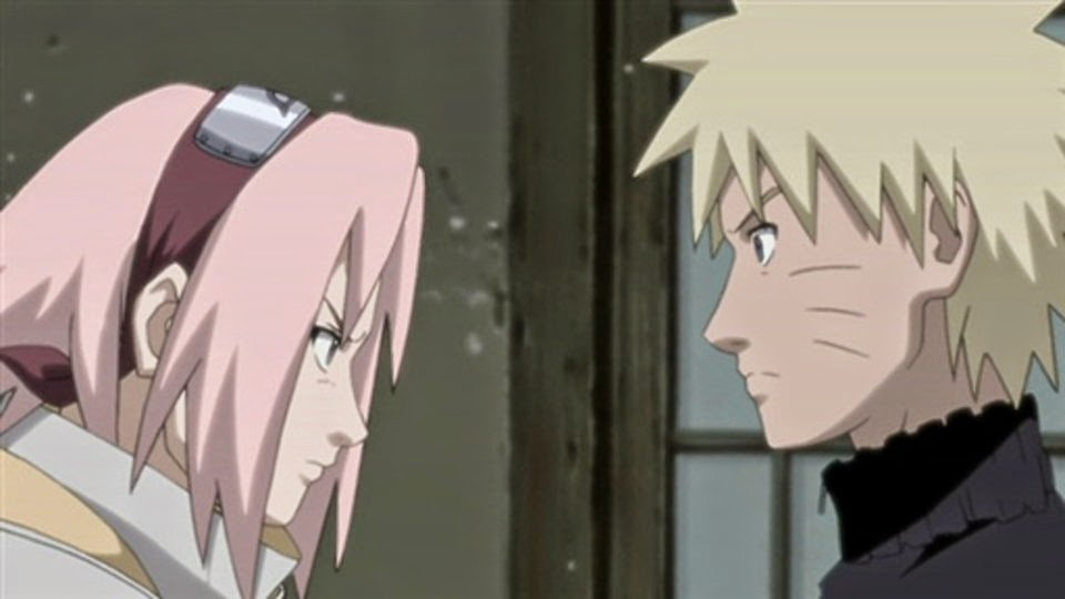 Sakura declara su amor a Naruto