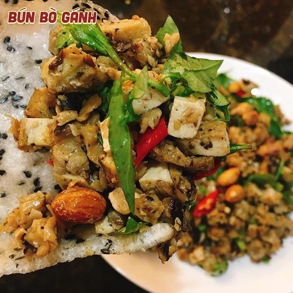 Hến Xúc Bánh Tráng - Baby Clam with Girdle-Cake