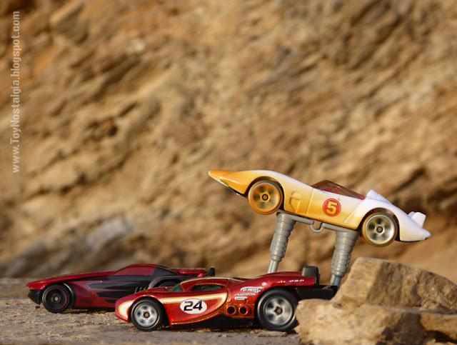 MACH 5 - Accesorio AutoJacks - SPEED RACER - HotWheels  (METEORO - SPEED RACER - MACH Go Go Go)