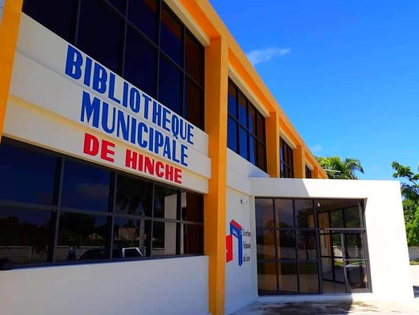 Un local Flambant neuf pour la réouverture de la bibliothèque Municipale de Hinche